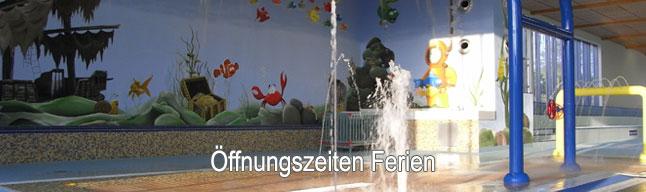 Öffnungszeiten Hallenbad Ferien