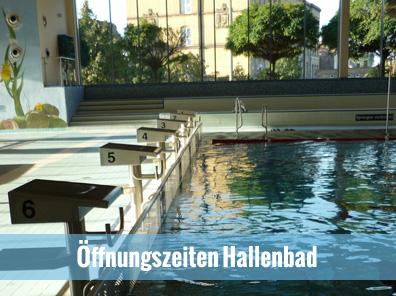 Öffnungszeiten Hallenbad