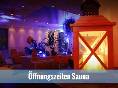 Öffnungszeiten Sauna