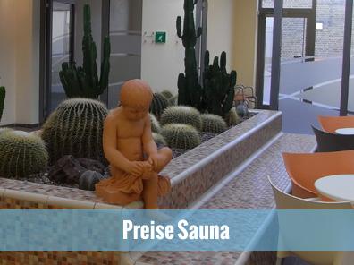 Preise Sauna