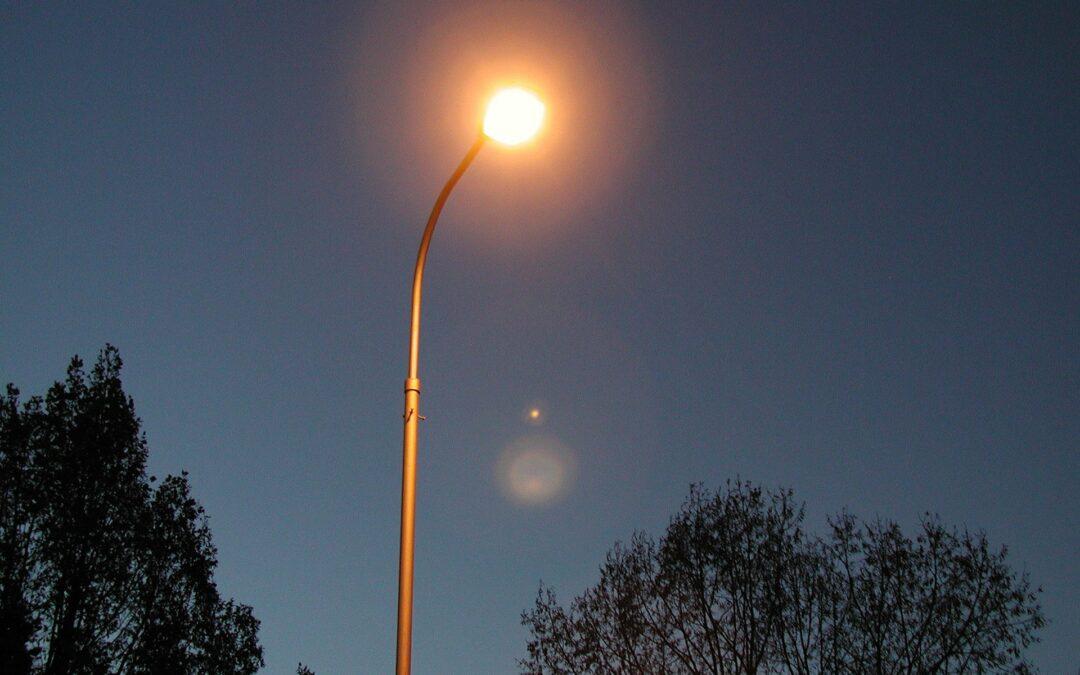 Portal der Straßenbeleuchtung mit Bürgermelder verlinkt